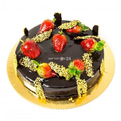 Порадуйте себя и близких вкусным тортом Чизкейк Классик шоколадный