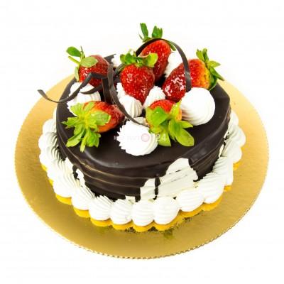 Порадуйте себя и близких вкусным тортом Шоколадный каприз