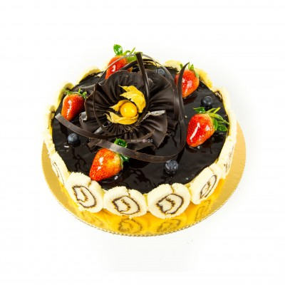Порадуйте себя и близких вкусным тортом Кремчиз шоколад