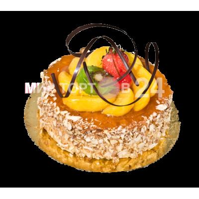 Порадуйте себя и близких вкусным тортом Чизкейк Персик