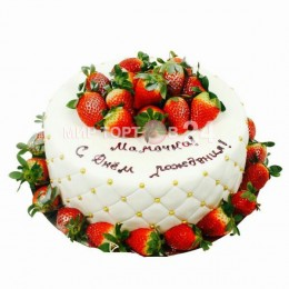 Торт праздничный маме 1