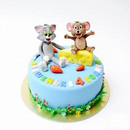 Торт детский Том и Джерри 1