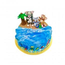 Торт детский Том и Джерри