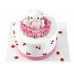 Торт хелло китти