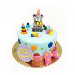 Торт детский мишка