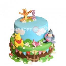 Торт детский Винни Пух