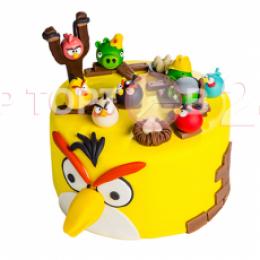 Торт детский angry birds