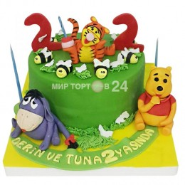 Торт детский Винни Пух 1