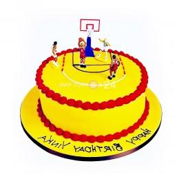 Торт Детский баскетбол