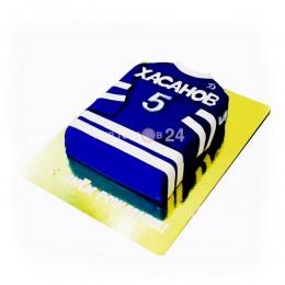 Торт для любителей футбола