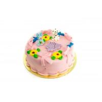 Торт Детский с цветочками 1