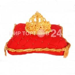 Торт Свадебный с короной