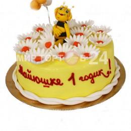 Торт Детский пчела 2