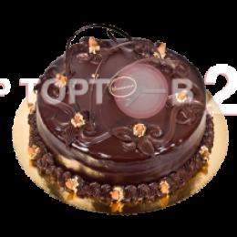 Торт Шоколадный миндаль
