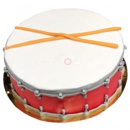 Торт детский барабан