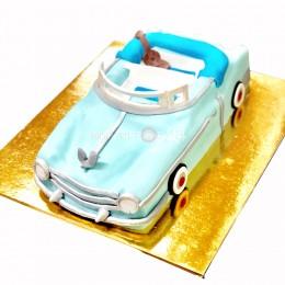 Торт детский Машинка