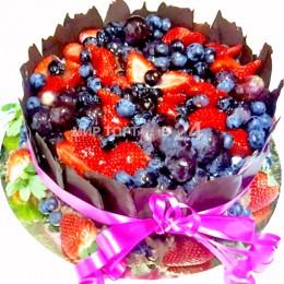 Торт праздничный ягодное счастье
