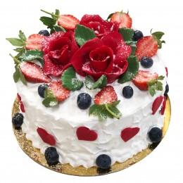 Торт праздничный круглый на все случаи жизни