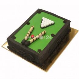 Праздничный торт  Бильярдный стол