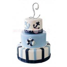 Торт Свадебный морской