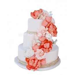 Торт Свадебный Райский Сад