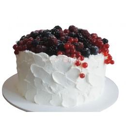 Торт Свадебный ягодное облако