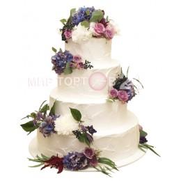 Торт свадебный 10
