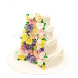 Торт свадебный 14
