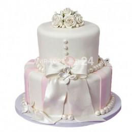 Торт свадебный 17