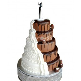 Торт свадебный 18