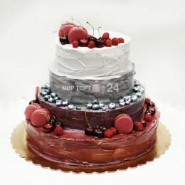Торт свадебный 19