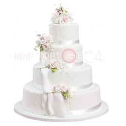 Торт свадебный 28
