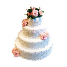 Торт свадебный 29