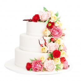 Торт свадебный 34