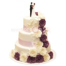 Торт свадебный 38