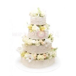 Торт свадебный 43