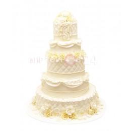 Торт свадебный 49