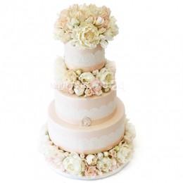 Торт свадебный 55