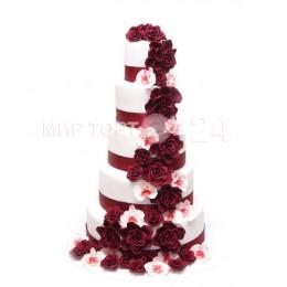 Торт свадебный 56