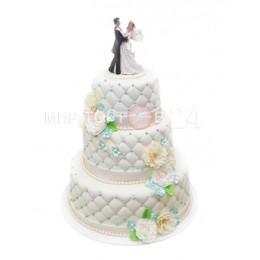Торт свадебный 57