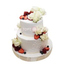 Торт свадебный 58