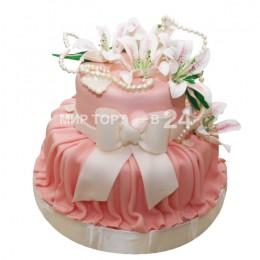 Торт свадебный 63