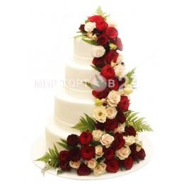 Торт свадебный 66