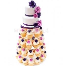 Торт свадебный 72