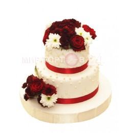 Торт свадебный 75