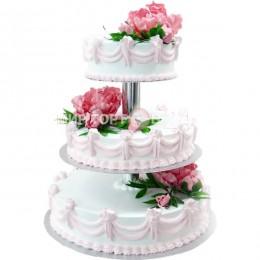 Торт свадебный 90