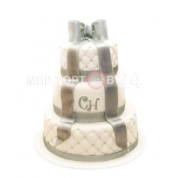 Торт свадебный 91