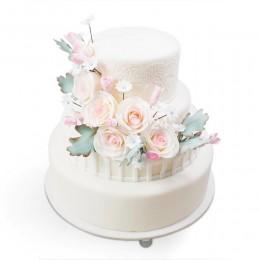 Торт Свадебный белый 1
