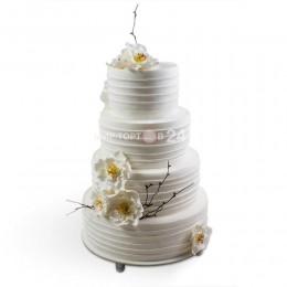 Торт Свадебный белый 2