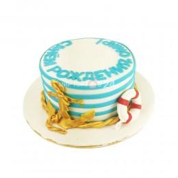 Торт праздничный на день ВМФ